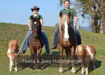 Pferde verladen mit Hekla und Joey Hattenberger