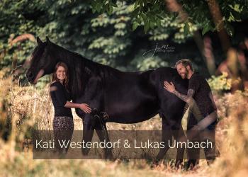 Kati Westendorf und Lukas Umbach