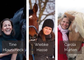 Pferdegewieher-Talk mit Tine Hlauscheck, Wiebke Hasse und Carola Marten
