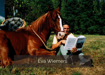 Eva Wiemers Zirkuslektionen mit Pferden