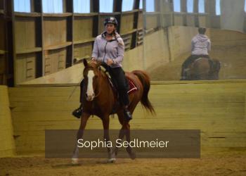 Sophia Sedlmeier Halsringreiten