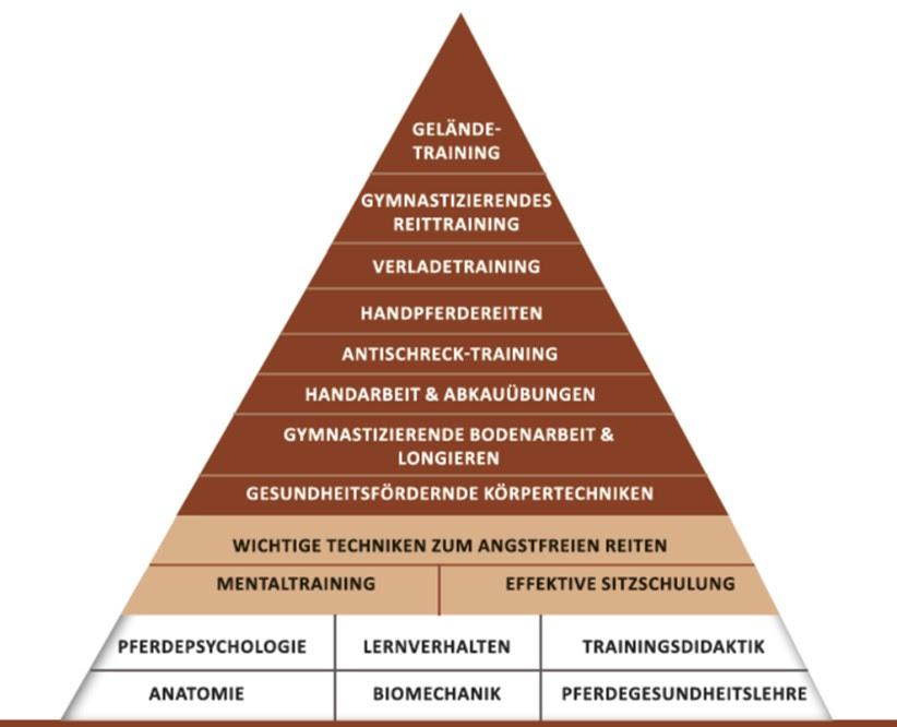 Ausbildungspyramide von Sandra Fencl