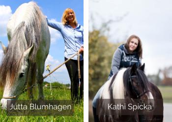 Jutta Blumhagen und Kathi Spicka